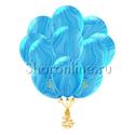 Фото №1: Облако мраморных сине-голубых шариков