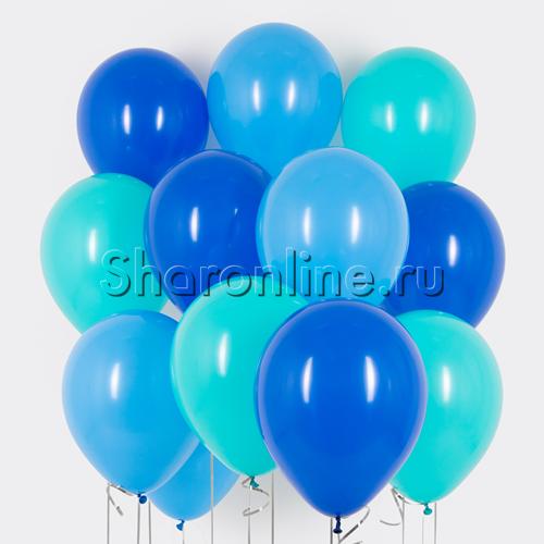 Фото №1: Облако шариков Аквамарин