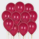 """Фото №1: Облако шариков """"Бургундия"""""""