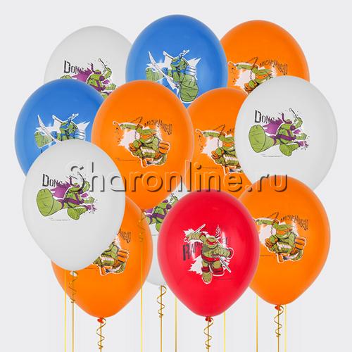 "Фото №1: Облако шариков ""Черепашки Ниндзя"""