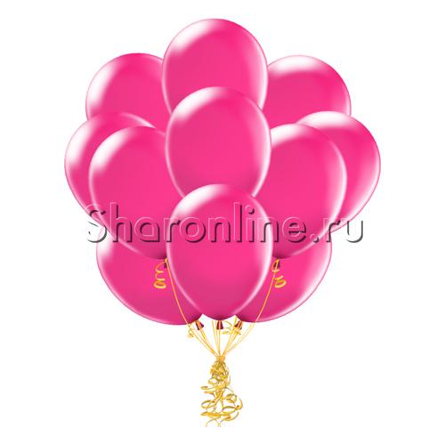 Фото №1: Облако шариков цвета фуксия