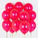 Фото №1: Облако шариков цвета фуксия металлик