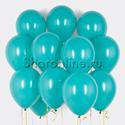 Фото №1: Облако шариков цвета морской волны