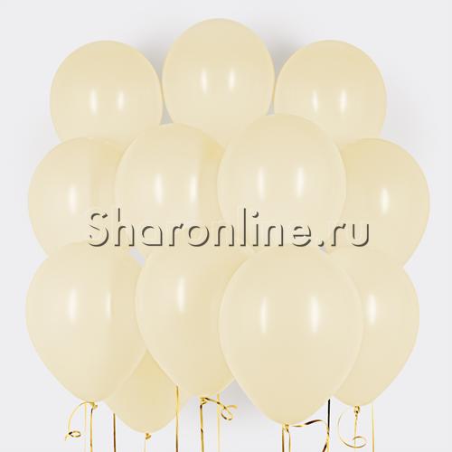 Фото №1: Облако шариков цвета слоновой кости