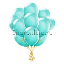 Облако шариков цвета тиффани
