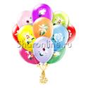 """Фото №1: Облако шариков """"Цветы"""""""