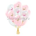 "Фото №2: Облако шариков ""Фламинго"""