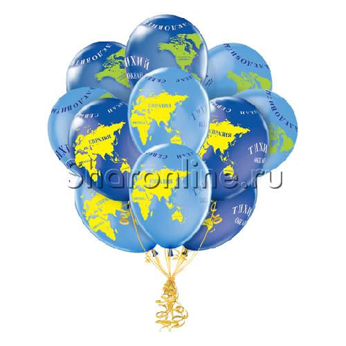 Фото №2: Облако шариков Глобус