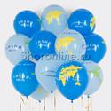 Фото №1: Облако шариков Глобус
