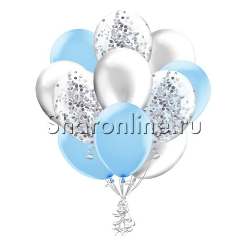Фото №1: Облако шариков Голубая дымка