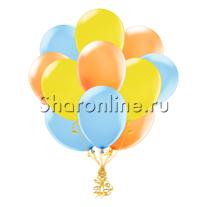 Облако шариков Летняя акварель