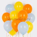 Фото №1: Облако шариков Летняя акварель