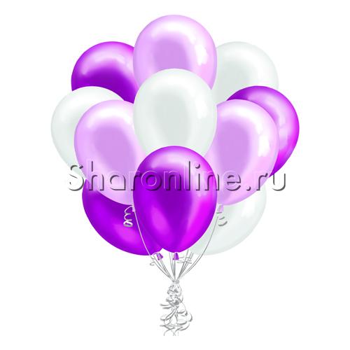 Фото №2: Облако шариков Лиловые мечты