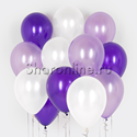 Фото №1: Облако шариков Лиловые мечты