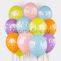 Фото №1: Облако шариков Малышарики