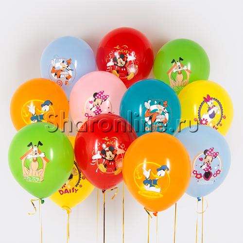 """Фото №1: Облако шариков """"Микки Маус"""""""