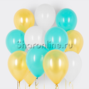 Фото №1: Облако шариков Морская жемчужина
