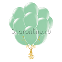 Фото №2: Облако шариков мятного цвета