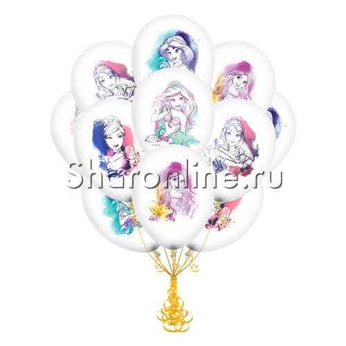 """Фото №1: Облако шариков """"Принцессы"""""""