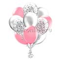 Фото №1: Облако шариков Розовая дымка