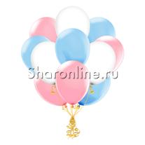 Облако шариков Розовая лазурь