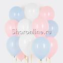 Фото №1: Облако шариков Розовая лазурь