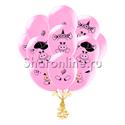 "Фото №1: Облако шариков ""Розовые свинки"""