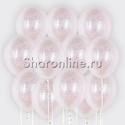 Фото №1: Облако шариков с белым голографическим конфетти