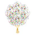 Фото №1: Облако шариков с разноцветным конфетти