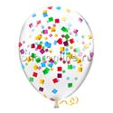 Фото №2: Облако шариков с разноцветным конфетти