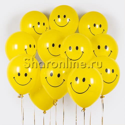 Фото №1: Облако шариков Смайликов
