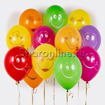 Облако шариков Смайликов Ассорти