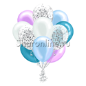 Фото №1: Облако шариков Снежная королева
