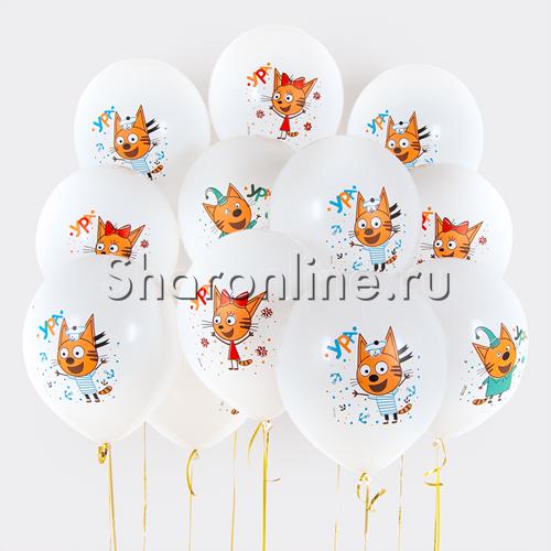 """Фото №3: Облако шариков """"Три Кота"""""""