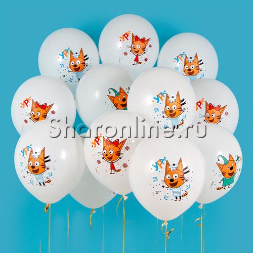 """Фото №1: Облако шариков """"Три Кота"""""""
