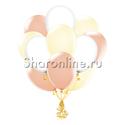 Фото №1: Облако шариков Ванильный восторг