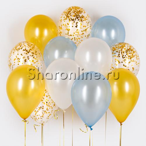 Фото №1: Облако шариков Зимняя сказка