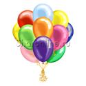 Фото №2: Облако шариков Ассорти металлик