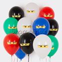 """Фото №1: Облако шаров """"Лего Ниндзяго"""""""