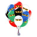 """Фото №2: Облако шаров """"Лего Ниндзяго"""""""