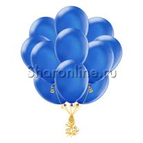 Облако синих шариков