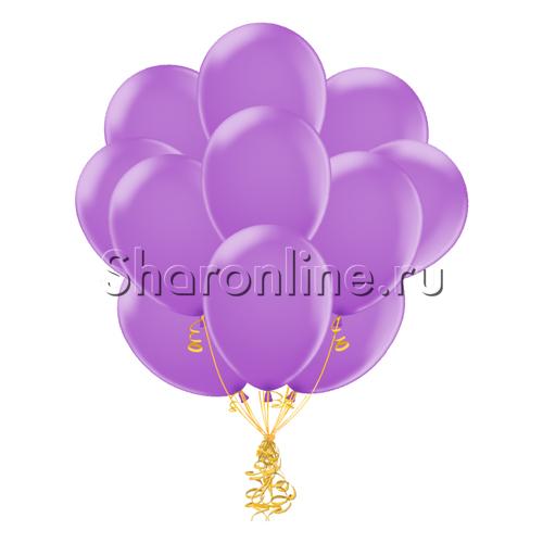 Фото №1: Облако сиреневых шариков