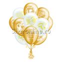 Фото №2: Облако свадебных шариков