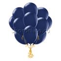 Фото №1: Облако темно-синих шариков