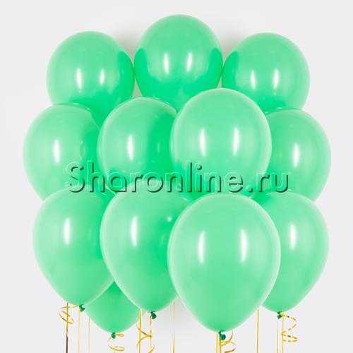 Фото №1: Облако зеленых шариков