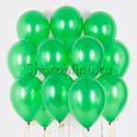 Фото №1: Облако зеленых шариков металлик