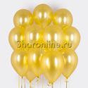 Фото №1: Облако золотых шариков