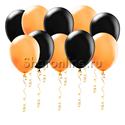 Фото №1: Оранжево-черные шары