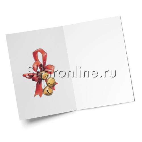 "Фото №2: Открытка ""Новогодний венок"" 145*105 мм"