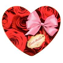 """Открытка-валентинка """"Букет роз"""" 7х6 см"""